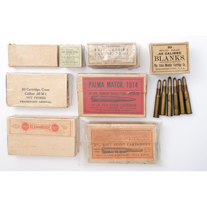 Nine Boxes of Collector Ammunition