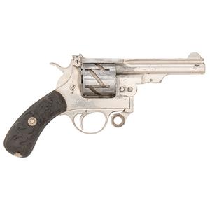 Small Mauser Zig-Zag Revolver with Gutta Percha Grips
