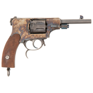 Rare and Possibly Unique Belgian Double-Action Revolver