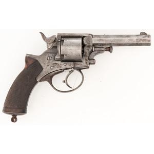 Scarce Model 1868 Tranter Revolver