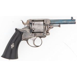 Small German Centerfire Revolver by G. Wilke in Stuttgart