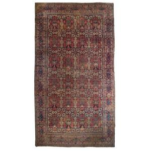 Persian Lavar Kerman Palace Size Rug