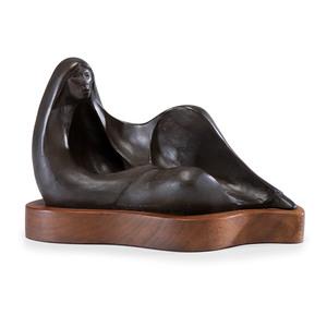Allan Houser (Chiricahua Apache, 1914-1994) Bronze Sculpture