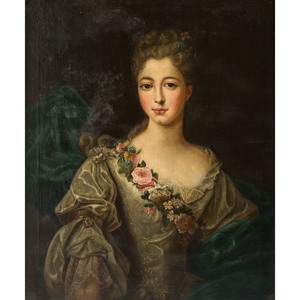A French Portrait of a Woman, 18th Century