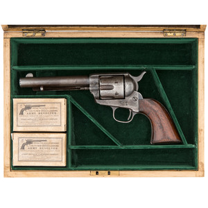 Colt Single Action Army Revolver in Contemporary Case