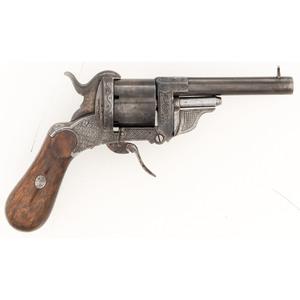 Eyraud Patent Pinfire Revolver