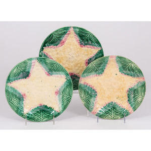 Etruscan Majolica Plates