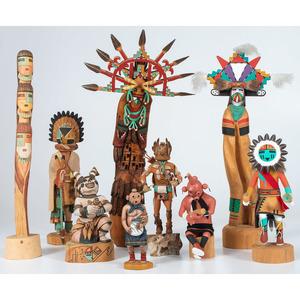 Assorted Hopi Katsinas