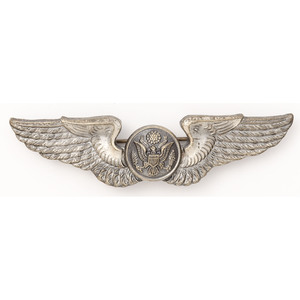 J.R. Gaunt WWII U.S. Army Air Corps Air Crew Badge