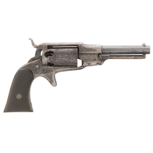 Factory Engraved Remington Third Model Beals Percussion Revolver