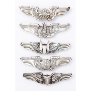 U.S. Army Air Force Crew Badge Set