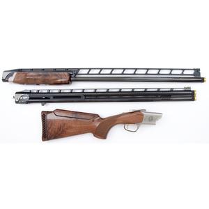 * Cased Browning Cynergy Classic Two-Barrel Shotgun Set