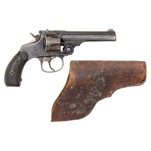 Smith and Wesson Fourth Model .32 Double Action Revolver