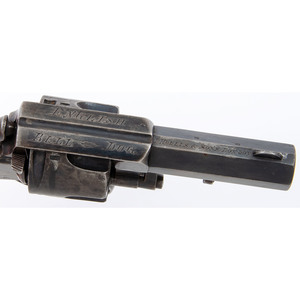 English Bulldog Revolver by J. Hollis & Sons, London
