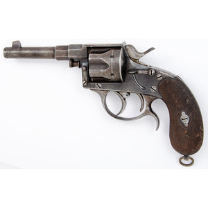 Rare Dual Trigger Double Action Model 1883 Reichsrevolver