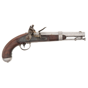Model 1836 R.Johnston Flintlock Pistol