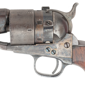 A Rare and Very Fine Colt Model 1860 Army Thuer Conversion Revolver with Percussion Cylinder