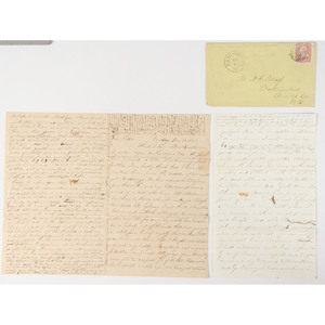 Civil War Correspondence, Including United States Navy and Signal Corps