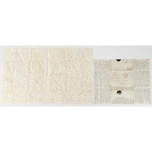 Civil War-Era Correspondence, Featuring Descriptions of Rebel Soldiers, 1860-1865