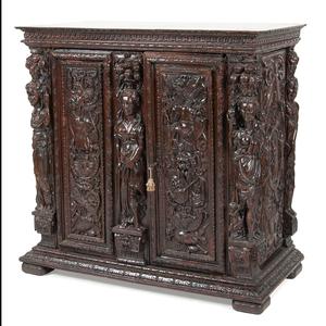 Italian Renaissance Cupboard in Walnut