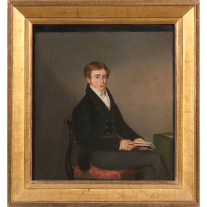 English School, Portraits of Young Men, Lot of Three