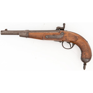 Austrian Model 1862 Cavalry Pistol