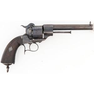 French M1854 Lefaucheux Pinfire Revolver