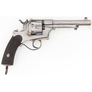 French C. Martinier Revolver