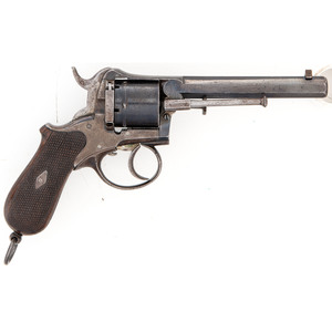 Double Action Pinfire Revolver by V.C.S. of Suhl