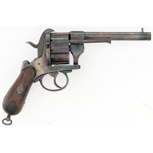 Ten Shot Pinfire Revolver