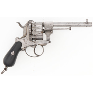 J. Chaineux 12 Shot Pinfire Revolver