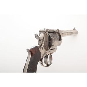 English Hill's Patent Revolver