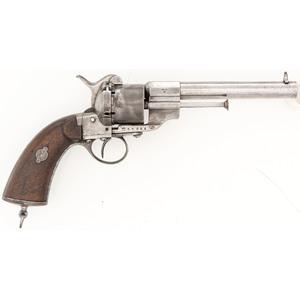 Swedish Model 1863 Lefaucheux Pinfire Revolver