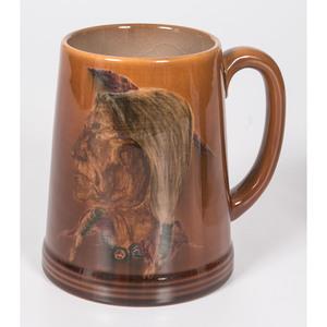 A Rookwood Pottery Native American Portrait Mug