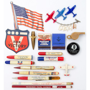 Lot of WWII Home Front Memorabilia
