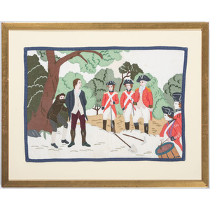 Folk Art Revolutionary War Themed Placemats