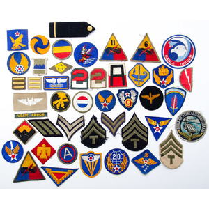 Lot of U.S. WWII-Era Patches