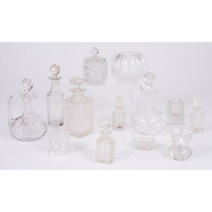 Cut Glass Tablewares and Accessories