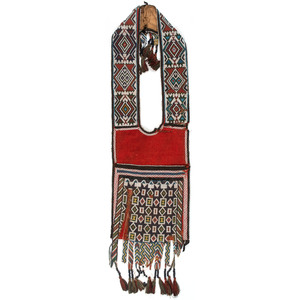 Anishinaabe Loom Beaded Bandolier Bag