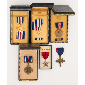 Lot of U.S. Gallantry Medals