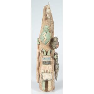 Walter Howato (Hopi, 1921-2003) Wood Katsina Sculpture