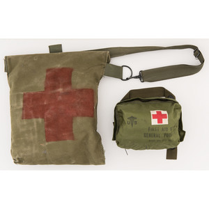 Lot of two US Field Medical Kits