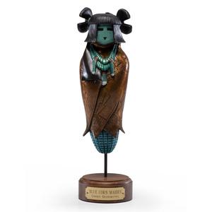 Gerry Quotskuyva (Hopi, 20th century) Bronze Sculpture