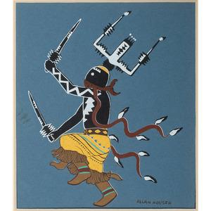 Allan Houser (Chiricahua Apache, 1914-1994) Color Print