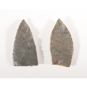 A Pair of Archaic Blades, Longest 3-1/2 in.