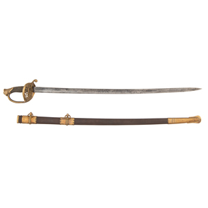 Model 1850 Horstman Staff and Field Infantry USC Sword