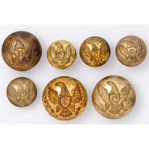 Federal Buttons for Dragoons and Cavalry