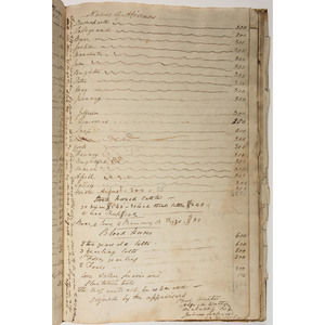 Detailed Copy Appraisal of the Estate of Revolutionary War Veteran, General John McPherson, Charleston, SC, with Content Regarding Enslaved People, Incl. Names and Familial Relations, 1806