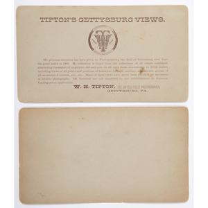 Pair of General Hancock Stereoviews by Tipton