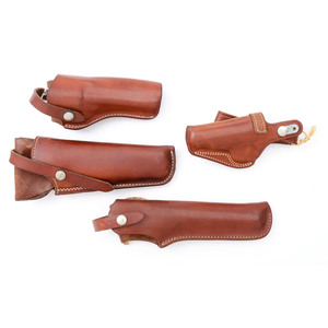 Lot of Five Leather Holsters